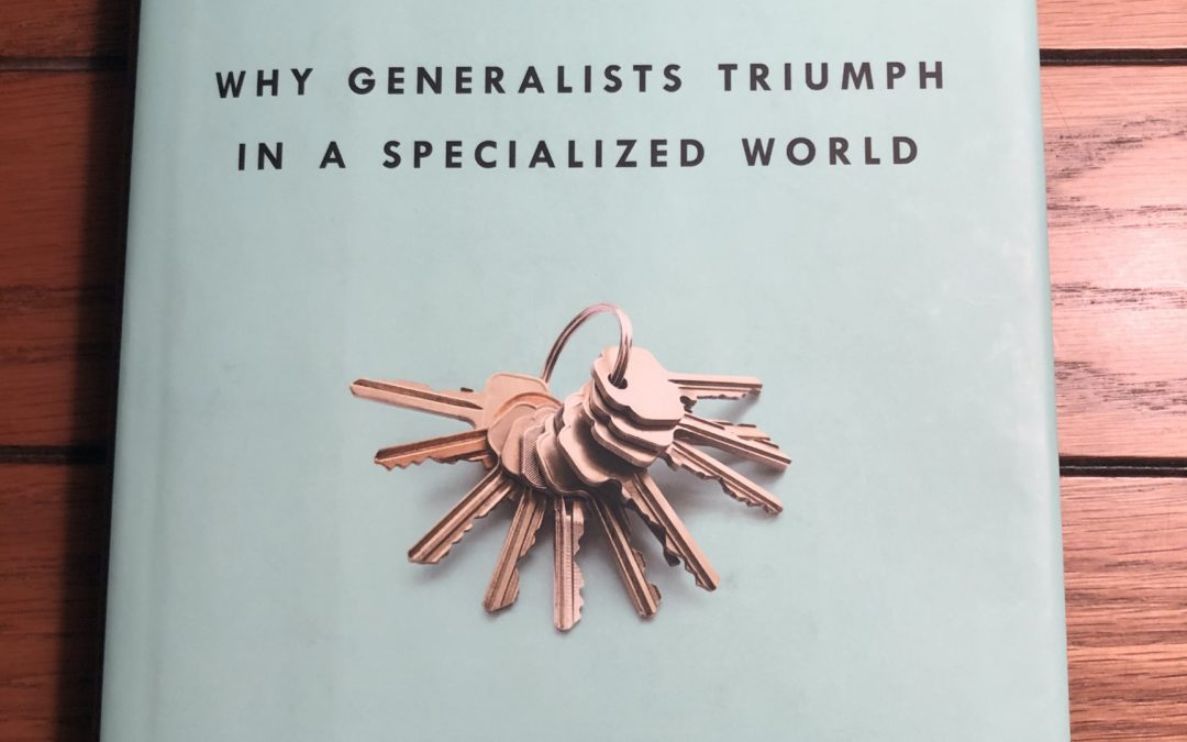 Generalists Triumph in a Specialized World